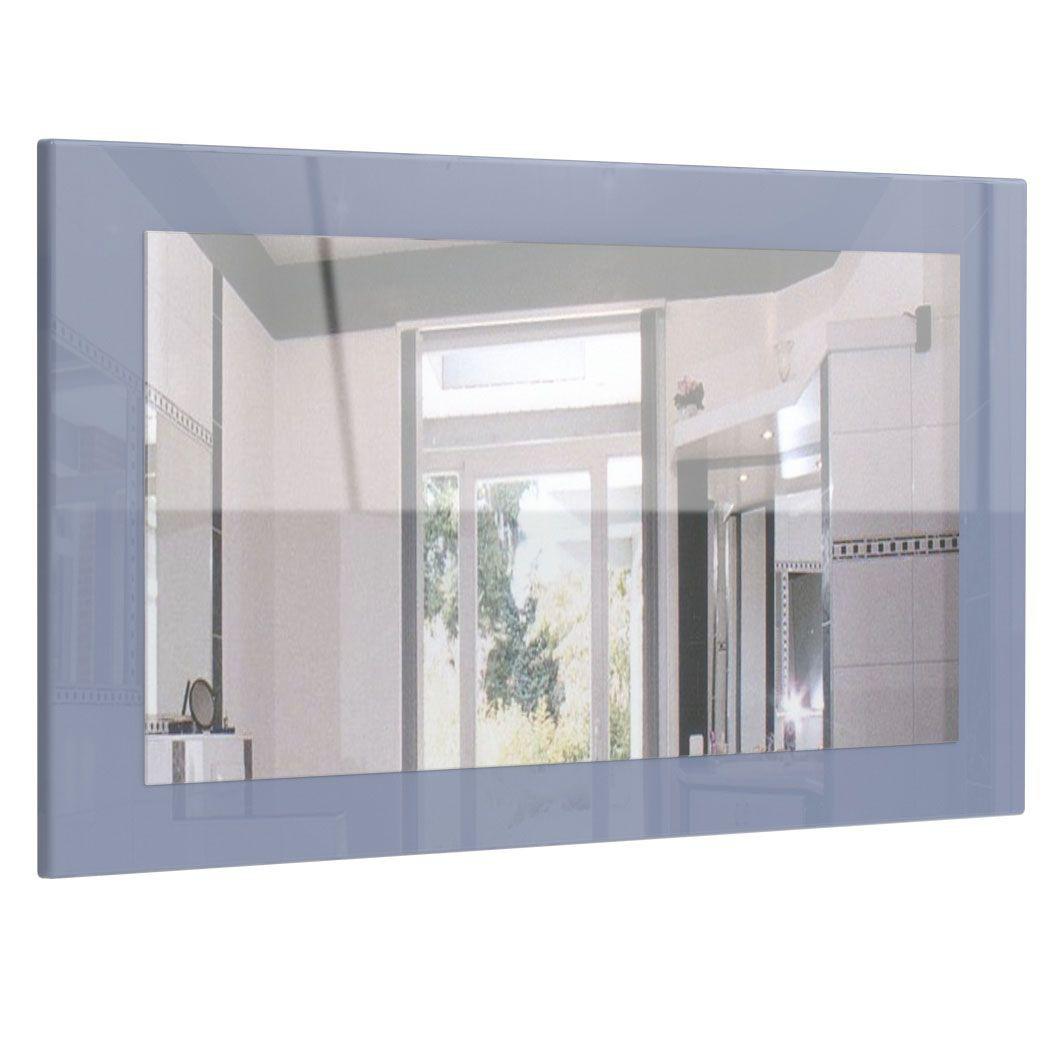 Miroir Haute Brillance Gris 89 Cm Pour Miroirs Design A