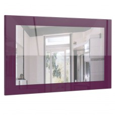 Miroir haute brillance violet 89 cm