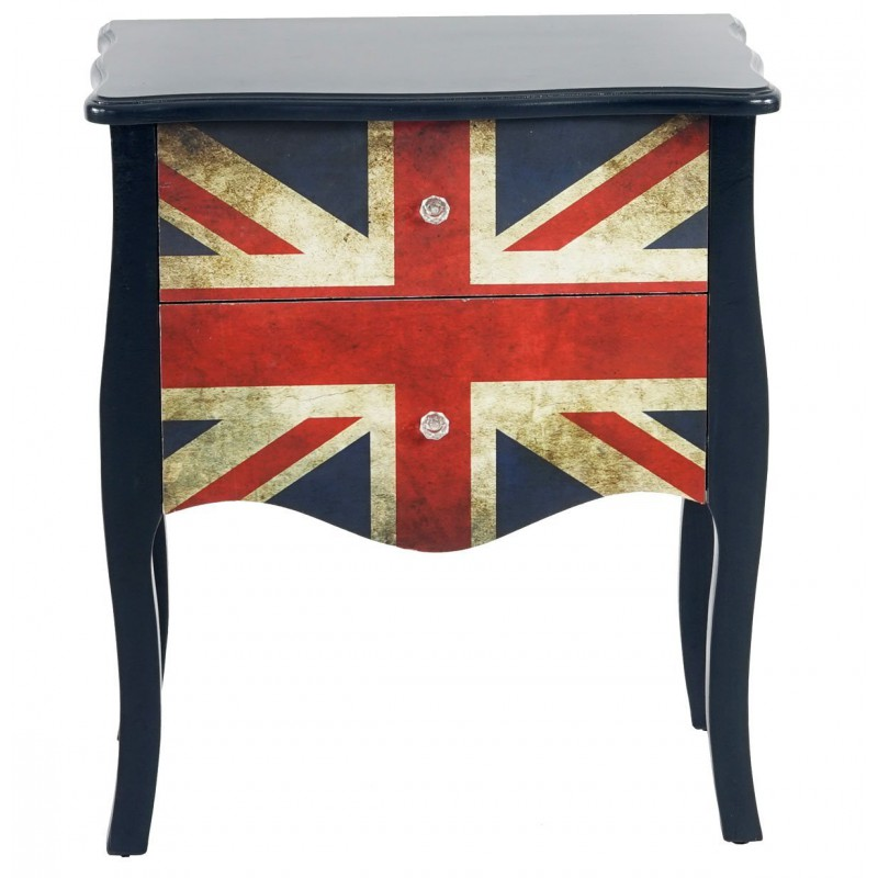 commode table d 39 appoint chevet 70x60x36cm pour commodes armoires. Black Bedroom Furniture Sets. Home Design Ideas