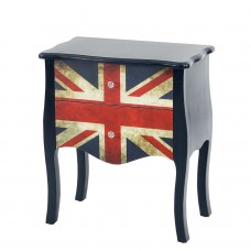 Commode table d'appoint chevet, 70x60x36cm