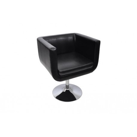 fauteuil design club noir pied m tal pour fauteuil club a 149 99. Black Bedroom Furniture Sets. Home Design Ideas