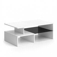 Table basse blanche 100 cm