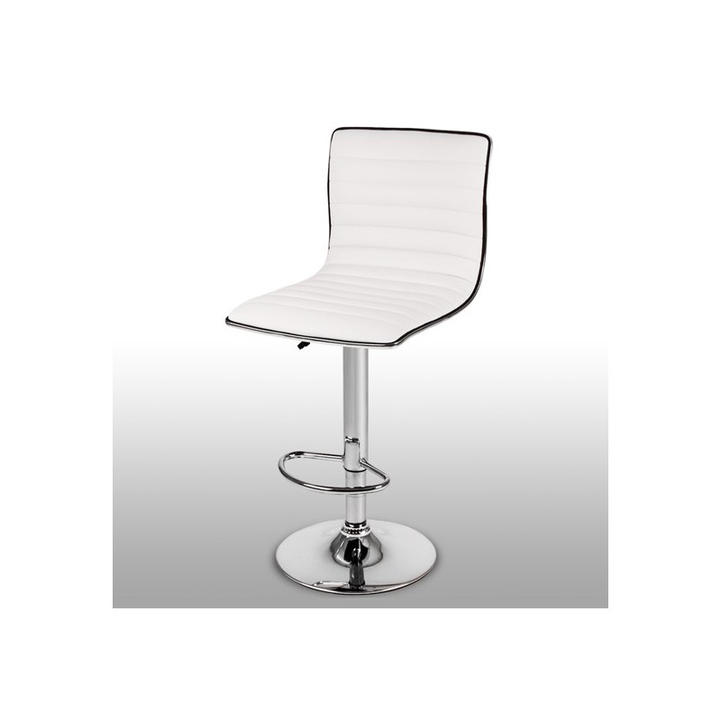 tabouret de bar l gant et confortable blanc pour tabourets a 105 62. Black Bedroom Furniture Sets. Home Design Ideas