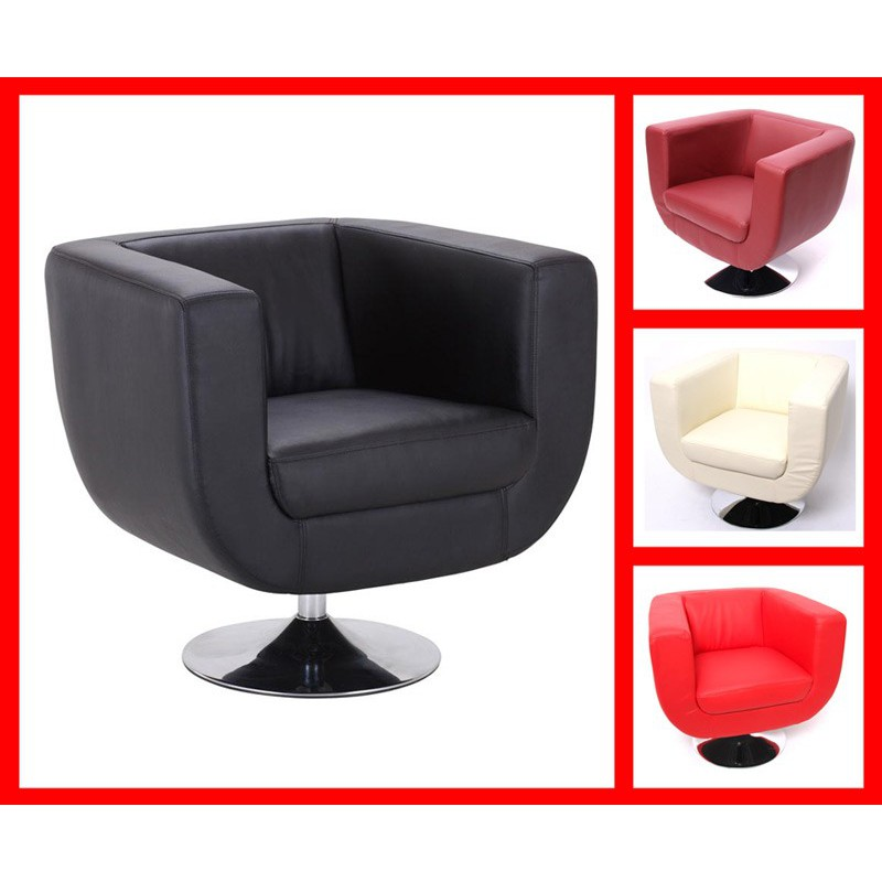 fauteuil design rouge pour fauteuil club a 229 29. Black Bedroom Furniture Sets. Home Design Ideas