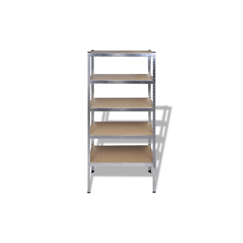 Etag res m tal stockage rayonnage industriel 5 planches - Etagere metal industriel ...