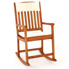 Chaise à bascule bois Rocking chair