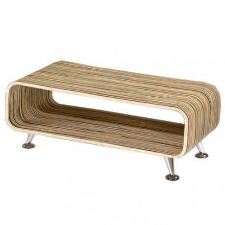 Table basse de salon beige 90x39x33cm pas cher meubles - Table basse laquee beige ...