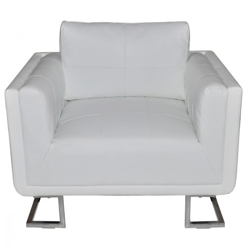 fauteuil club blanc pour fauteuil club a 212 12. Black Bedroom Furniture Sets. Home Design Ideas