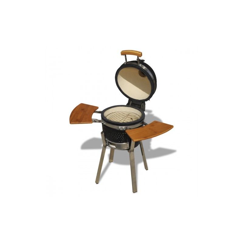 barbecue au charbon de bois en c ramique 76cm pour barbecues a 634. Black Bedroom Furniture Sets. Home Design Ideas