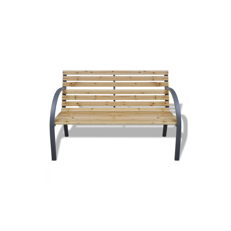 banc de jardin armature en m tal lattes en bois pour bancs. Black Bedroom Furniture Sets. Home Design Ideas