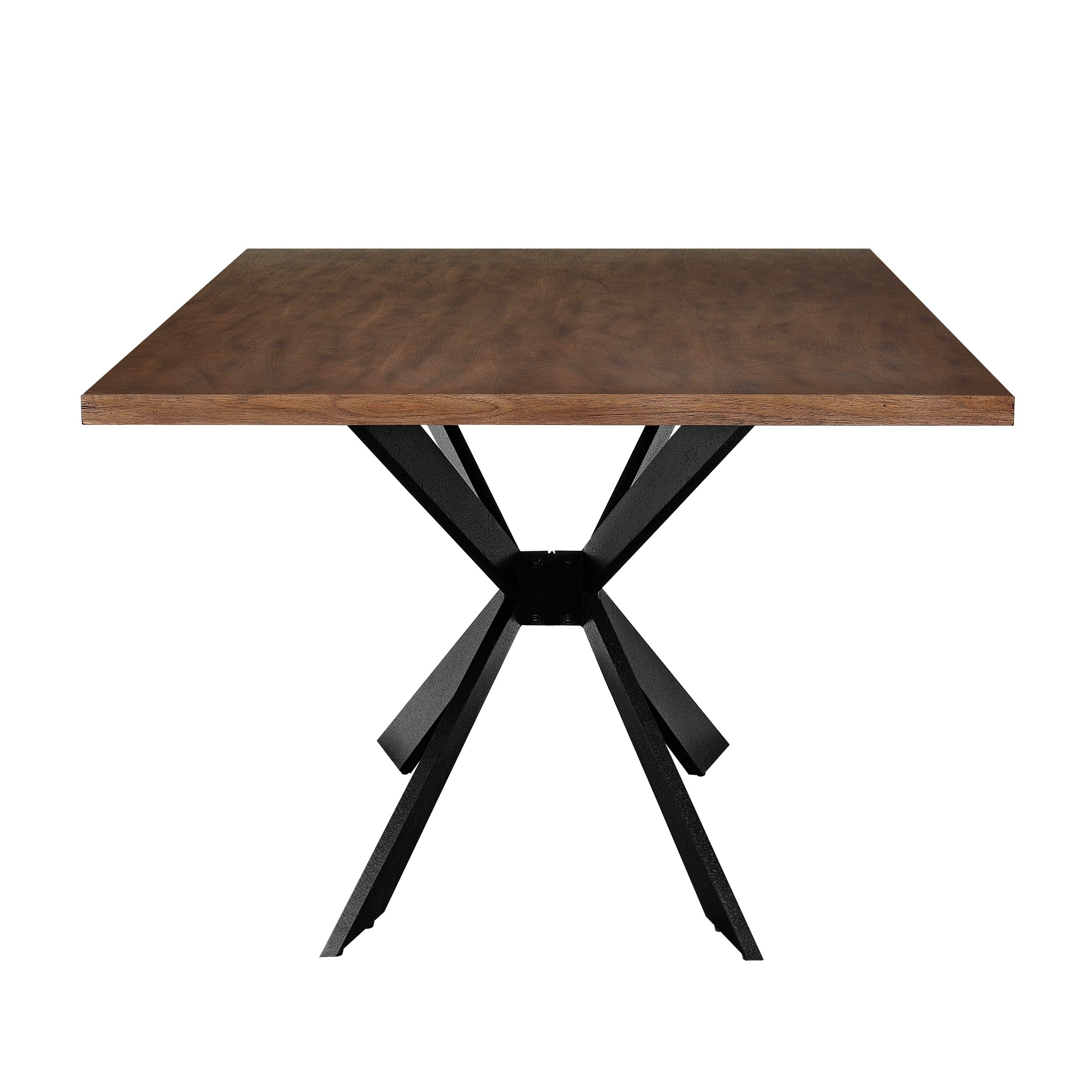 table en bois et fer 200 x 100 cm pour tables a 498 05. Black Bedroom Furniture Sets. Home Design Ideas