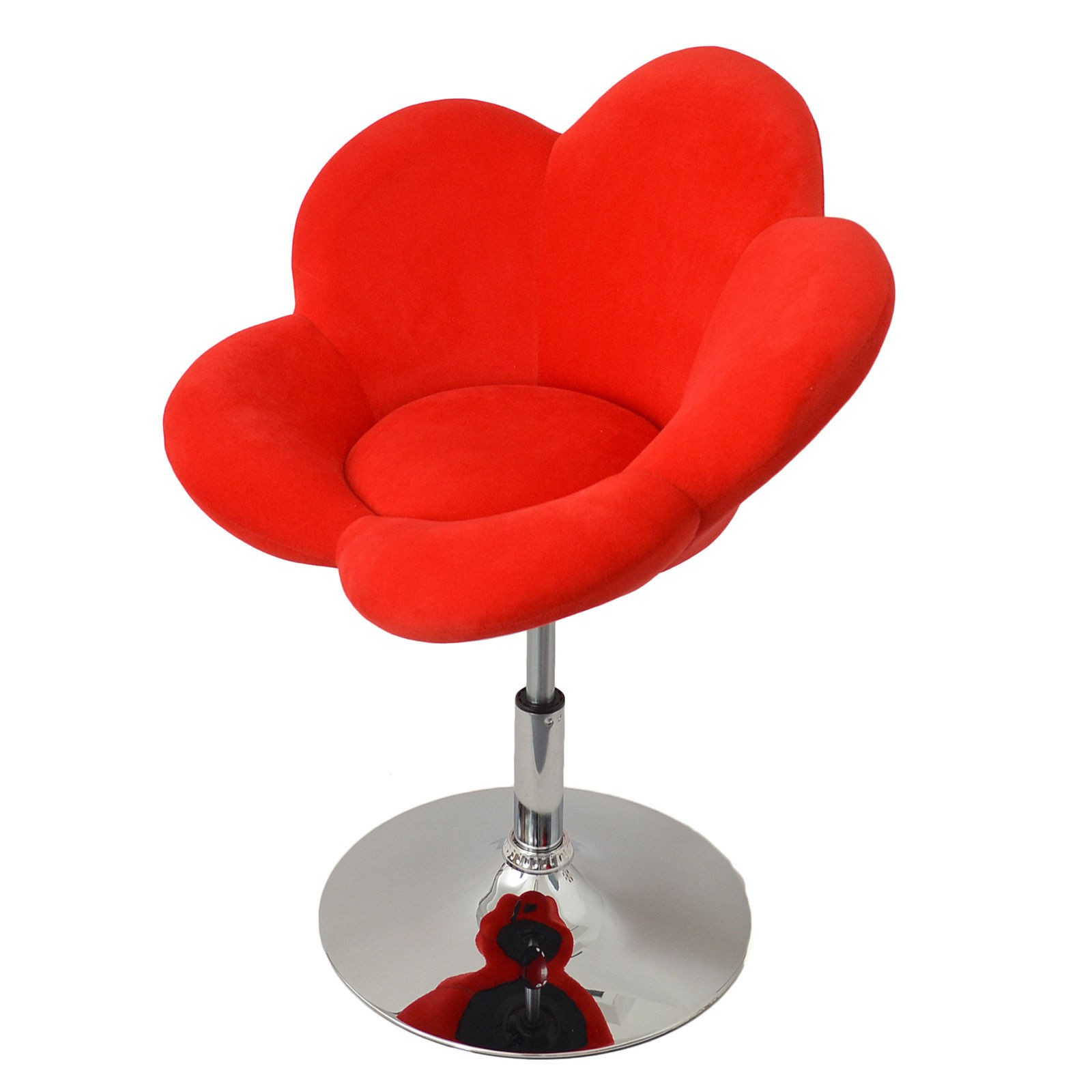 tabouret fleur rouge pour tabourets a 141 57. Black Bedroom Furniture Sets. Home Design Ideas