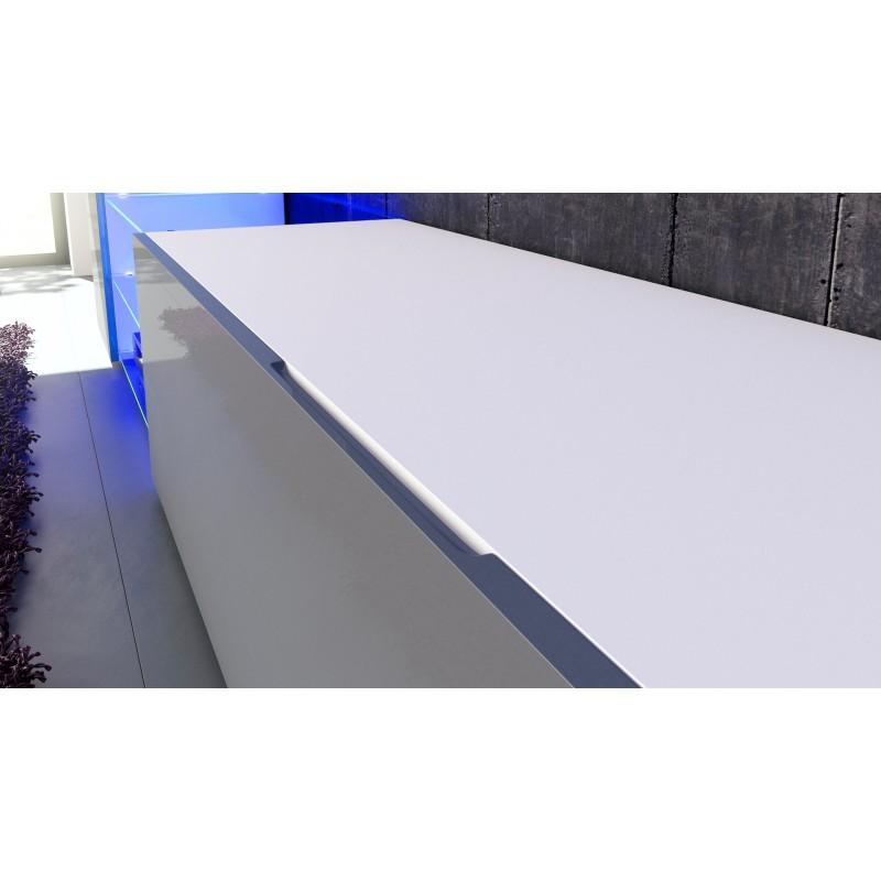 combinaison murale noire et blanche corps mat et fa ades laqu es po. Black Bedroom Furniture Sets. Home Design Ideas