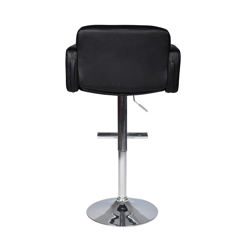 tabouret de bar amelie noir pour tabourets a 141 12. Black Bedroom Furniture Sets. Home Design Ideas