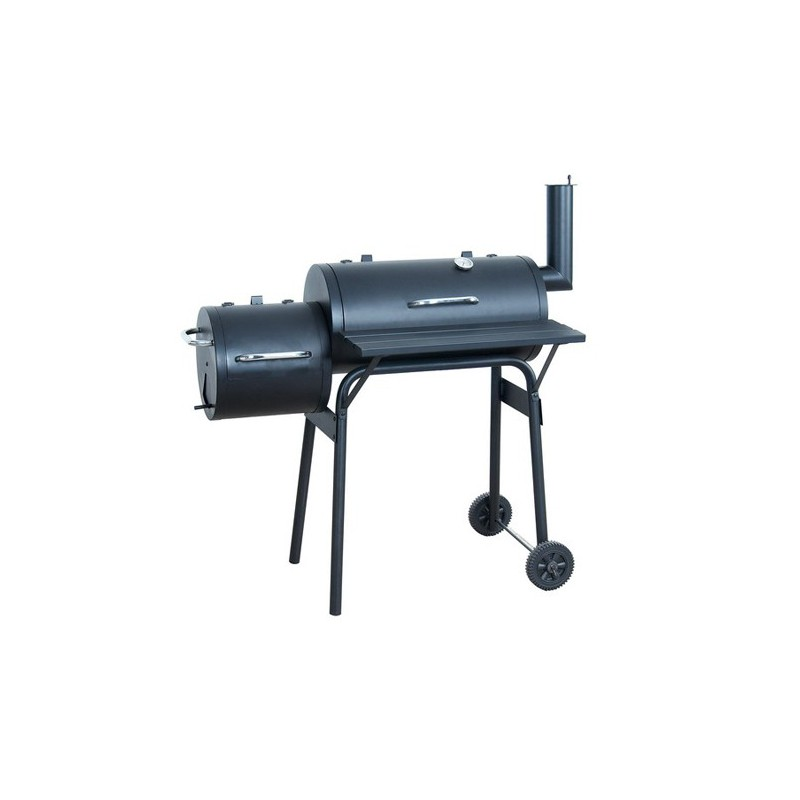 Barbecue Américain Smoker1 Grill + 1 Foyer Indirect ...