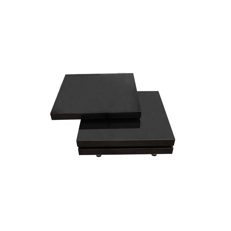 Table basse carree noir laque - Table basse carree noire ...