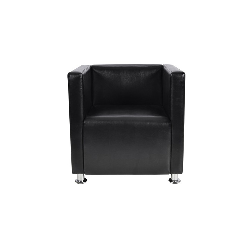 fauteuil design club noir pour fauteuil club a 141 12. Black Bedroom Furniture Sets. Home Design Ideas
