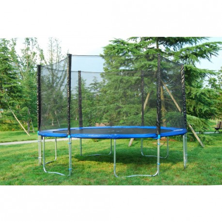 trampoline trampoline avec filet de s curit charge. Black Bedroom Furniture Sets. Home Design Ideas