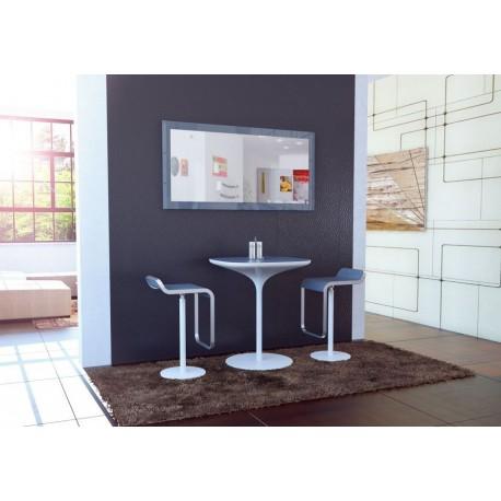 miroir laqu gris110 cm pour miroirs design a 142 01. Black Bedroom Furniture Sets. Home Design Ideas