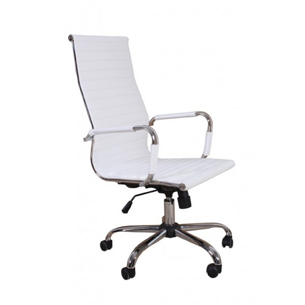 fauteuil de bureau grand dossier blanc pour chaises a 229 87. Black Bedroom Furniture Sets. Home Design Ideas