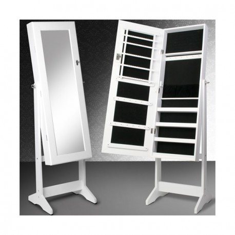 armoire bijoux avec miroir. Black Bedroom Furniture Sets. Home Design Ideas