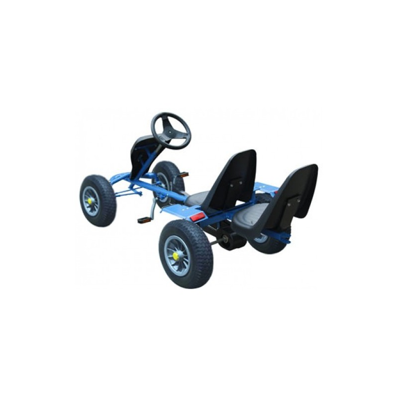 kart voiture p dale 2 places bleu pour karts a 345 25. Black Bedroom Furniture Sets. Home Design Ideas