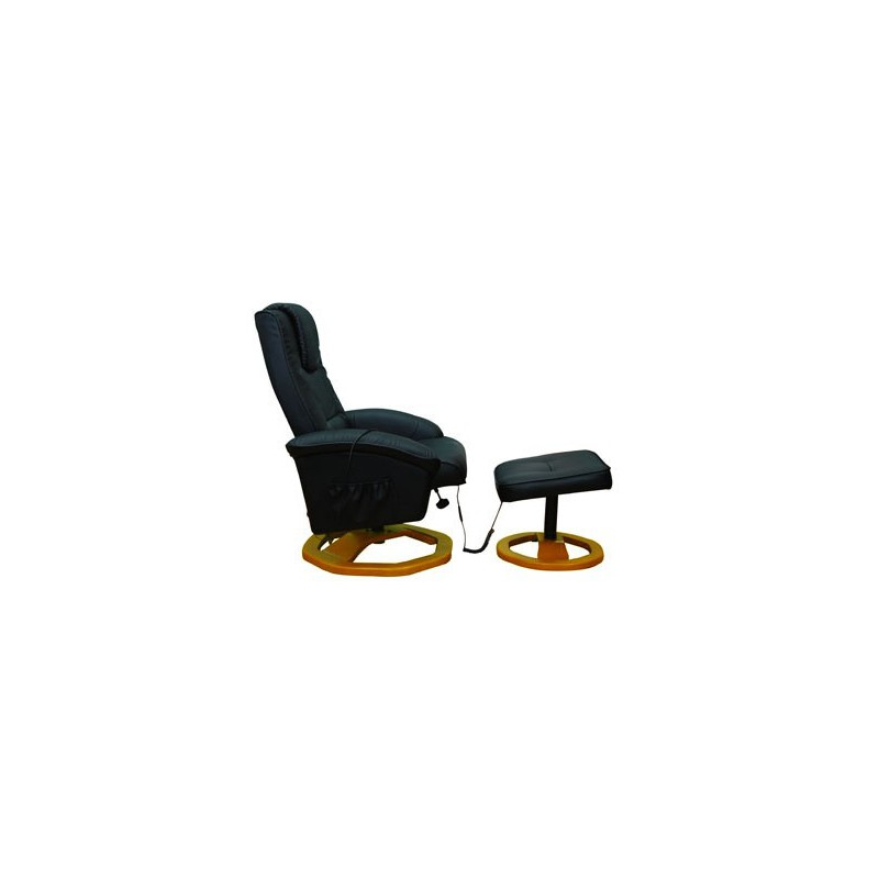 fauteuil de massages avec repose pieds s par pour fauteuils de re. Black Bedroom Furniture Sets. Home Design Ideas