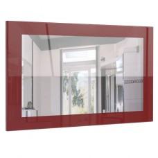 Miroir laqué bordeaux 89 cm