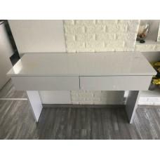 Coiffeuse blanche 120 x 83 x 40 cm