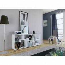 Étagère horizontale ou verticale  en blanc